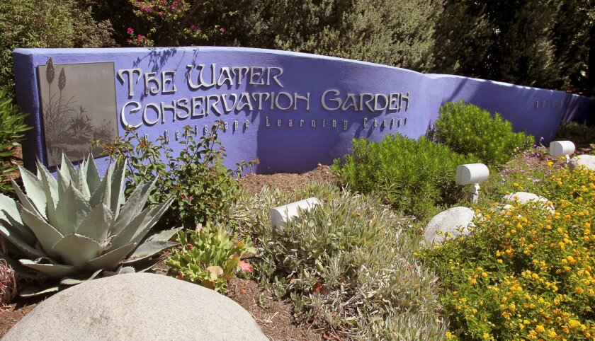 The Water Conservation Garden in El Cajon offers a variety of resources for changing a lawn into a low-water landscape.