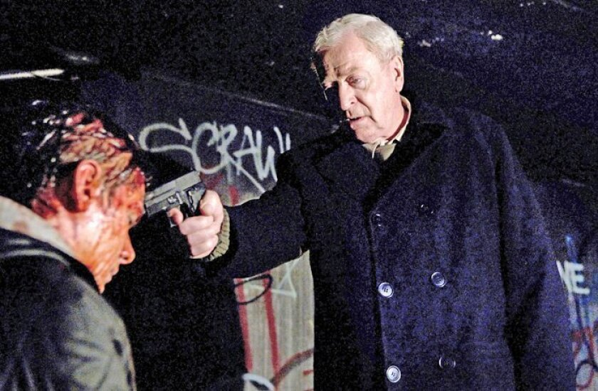 """Michael Caine plays the title character in """"Harry Brown."""""""