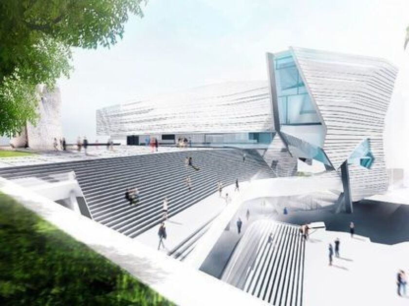 A new building for the Orange County Museum of Art, designed by Pritzker Prize-winning architect Thom Mayne, is scheduled to break ground by the end of summer.