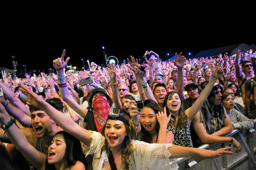 Women attend Coachella and other music festivals in huge numbers, yet that demographic is not reflected when it comes to selecting headliners.