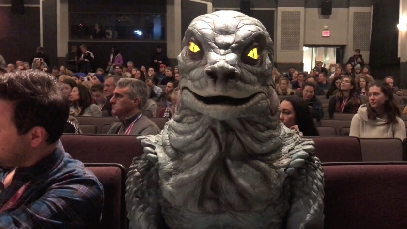 "Filmmaker Gregg Araki takes Godzilla to Sundance in his contribution to the omnibus film ""30/30 Vision: 3 Decades of Strand Releasing."""