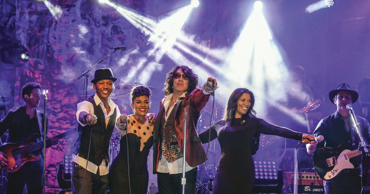 Kiss-off: Paul Stanley embraces love of vintage R&B with new Soul Station band and album: 'It's liberating!'