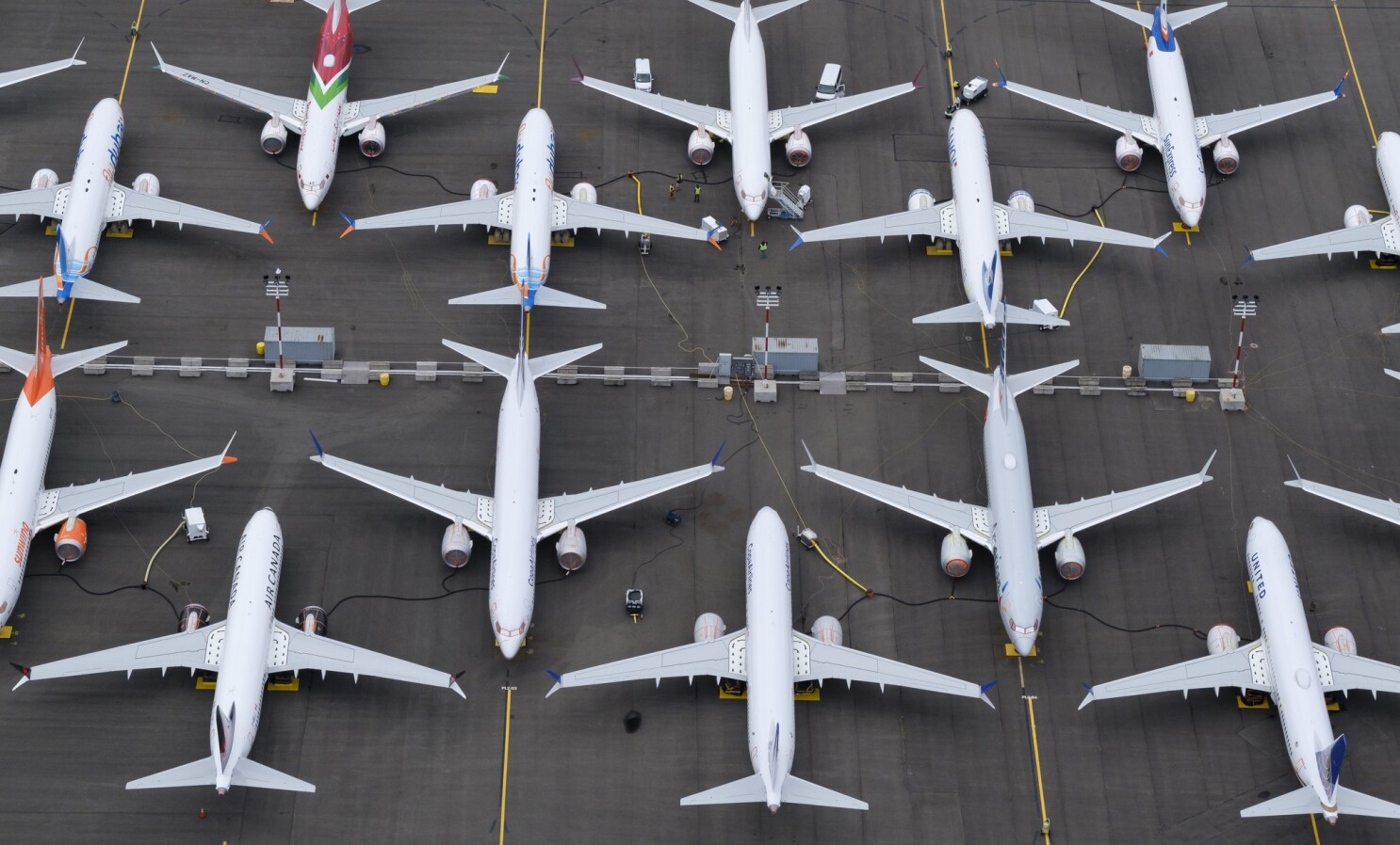 Boeing 737 Max groundings force airlines to scale back growth plans - Los Angeles Times