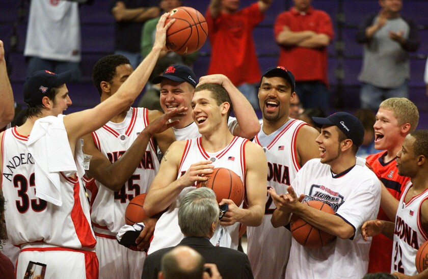 Luke Walton at Arizona