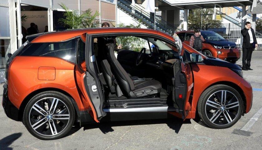 CES 2014 BMW i3