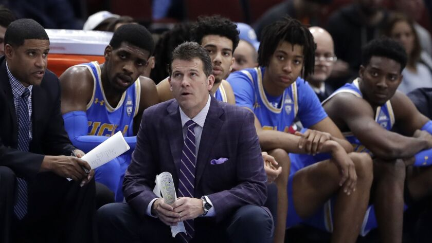 A three-game skid has increased the heat on UCLA coach Steve Alford, shown during a Dec. 22 game against Ohio State in the CBS Sports Classic.