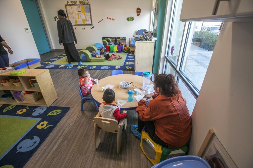 An analysis directed by First 5 Orange County found massive shortages in childcare options.