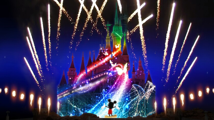 'Ignite the Dream' fireworks show