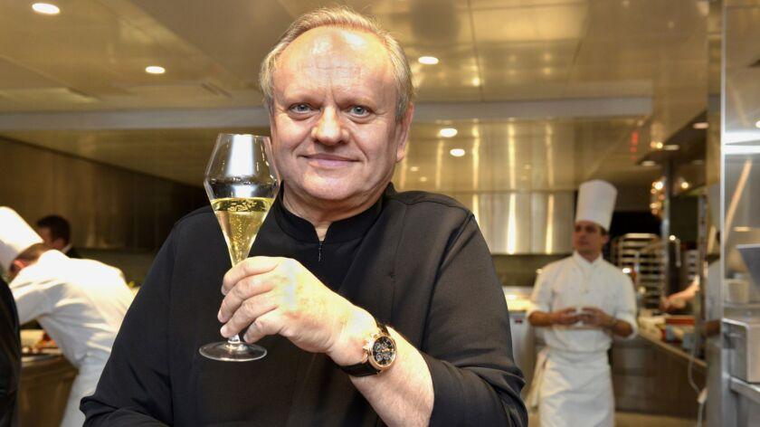 Joel Robuchon dies at 73, Le Brassus, Switzerland - 17 Dec 2013
