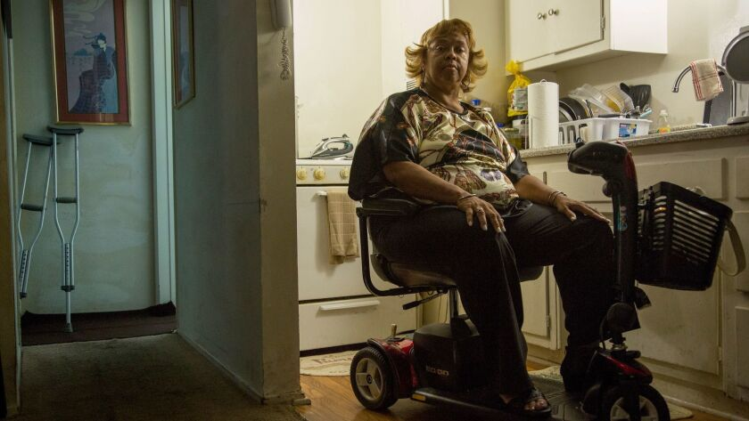 VAN NUYS, CA - JUNE 21, 2017: L.A. County's Neighborhood Legal Services is filing a lawsuit against