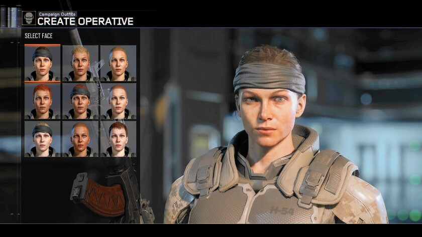 """Abby Brammell's voice and likeness are used in """"Call of Duty: Black Ops 3."""""""