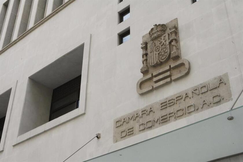 Fotografía de la sede de la Cámara de Comercio de España en Ciudad de México (México). EFE/Archivo