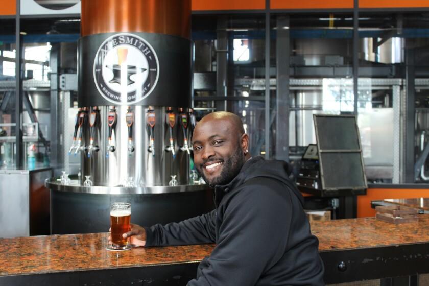 Tony Gwynn Jr. brews a pale ale inspired by his father and the Baseball Hall of Famer, Tony Gwynn.