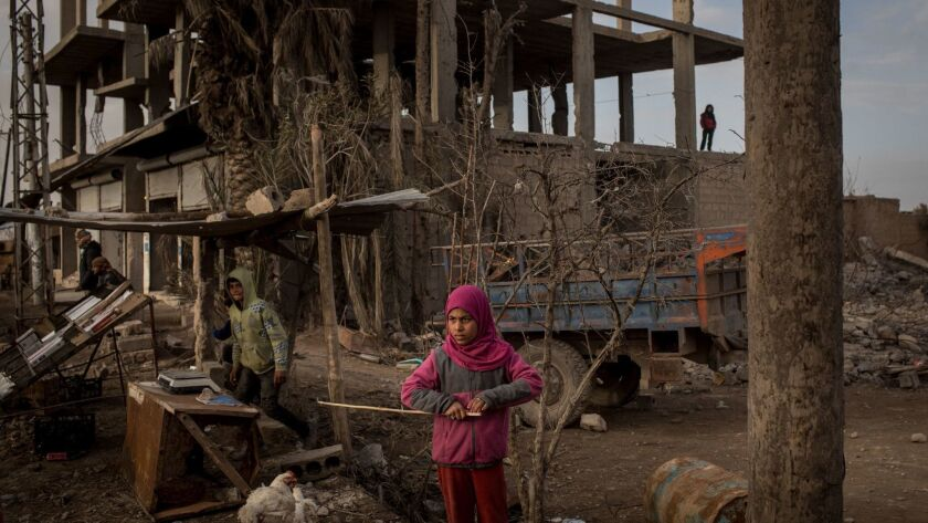 Civilians Return To Towns Around Bagouz As ISIL Defeat Nears