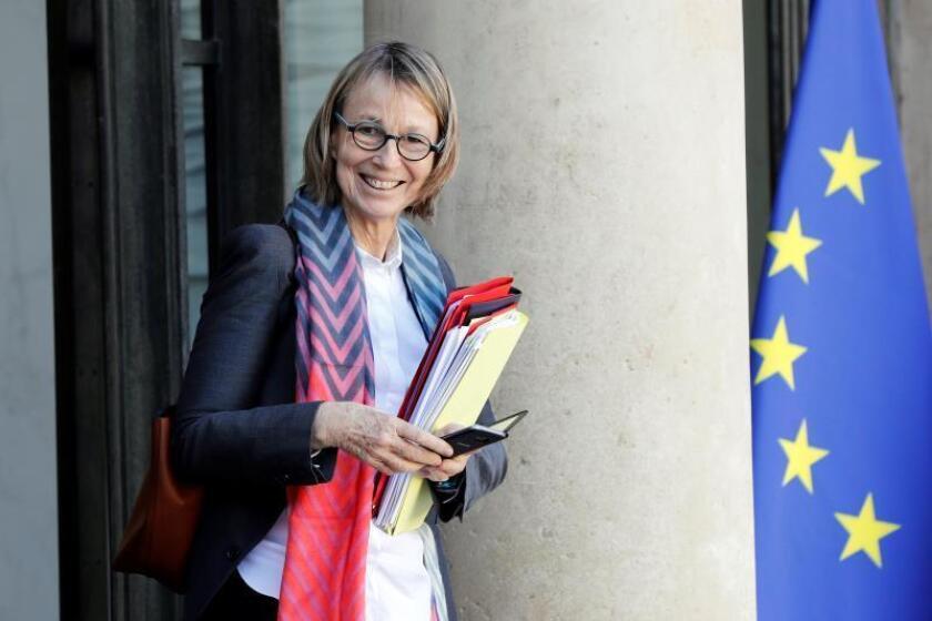 La ministra de Cultura francesa, Françoise Nyssen. EFE/Archivo