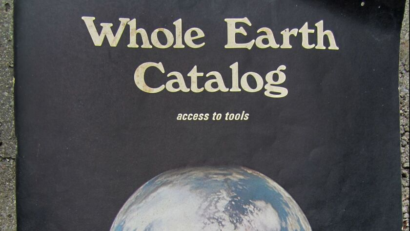 """A """"Whole Earth Catalog"""" from 1970."""