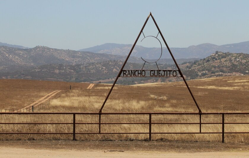 The remote and ruggedly beautiful Rancho Guejito poses one of hundreds of challenges to San Diego newcomers: How do you pronounce it?