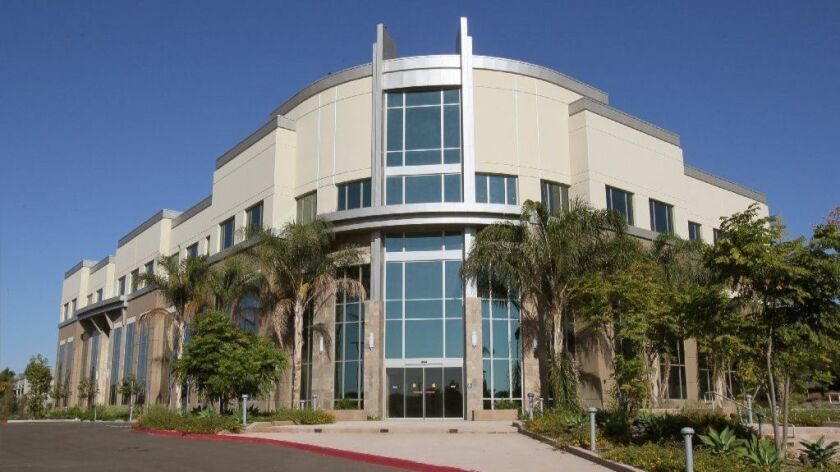 This three-story building on Tri-City Medical Center's main campus has been vacant since its completion in May 2013.