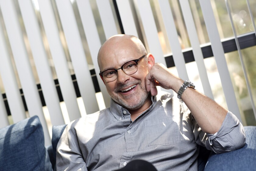 LOS ANGELES, CA., AUGUST 1, 2018--Sunday Conversation with Rob Corddry, actor and comedian, known fo