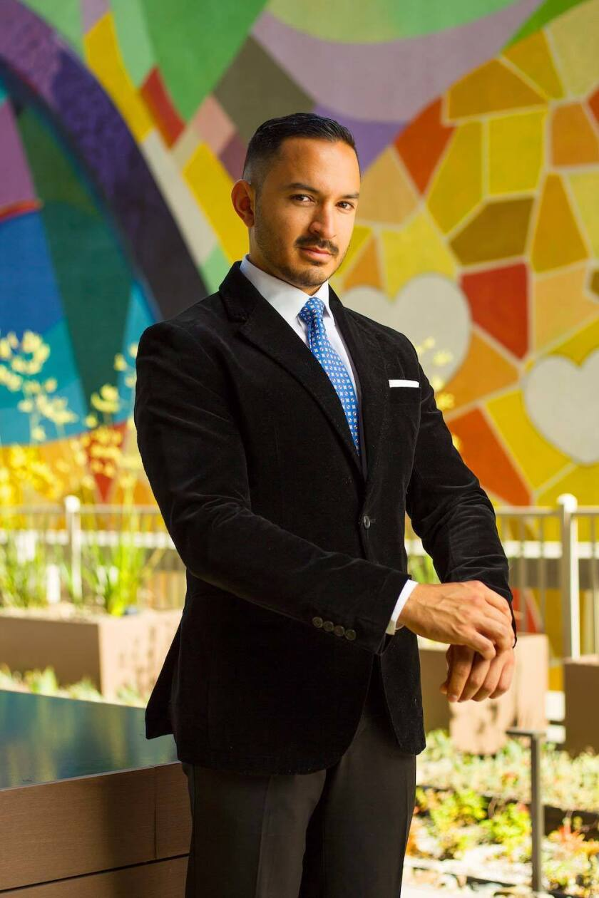 Immanuel Ontiveros created men's accessories and tie brand Lord Wallington.