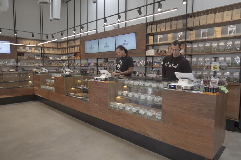 High there: Legal recreational cannabis dispensaries