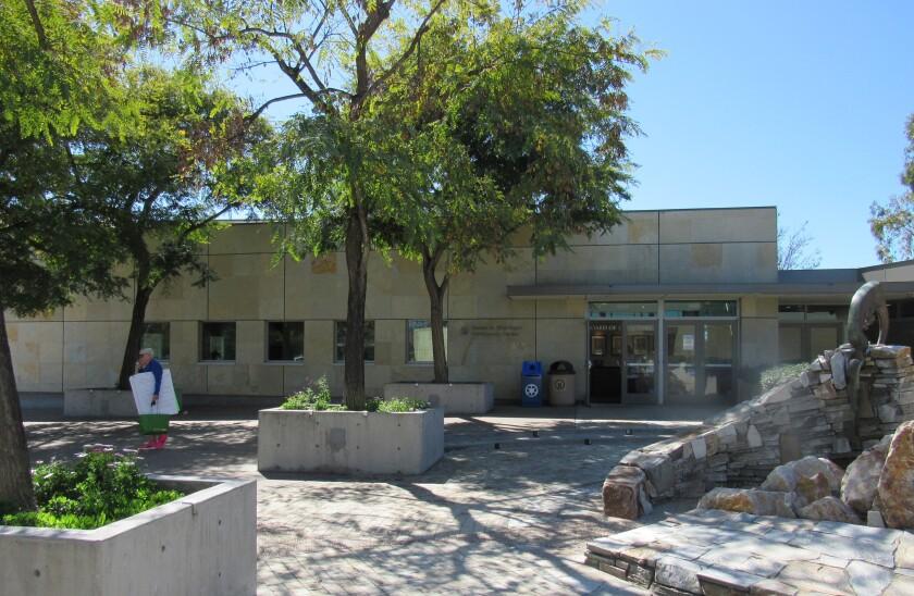 The Grossmont Healthcare District's office in La Mesa is near Sharp Grossmont Hospital.