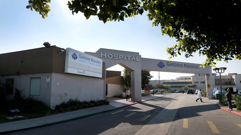 Gardens Regional Hospital & Medical Center agreed to pay $450,000 to settle a lawsuit over repeated cases of patient dumping.