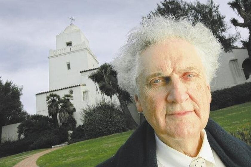 Léon Krier believes towers, such as the Serra Museum's in Presidio Park, can add a sense of place in neighborhoods.