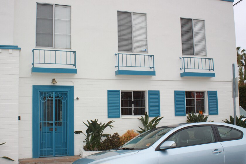 The gallery space that once housed the La Jolla Art Association at 8100 Paseo Del Ocaso in The Shores