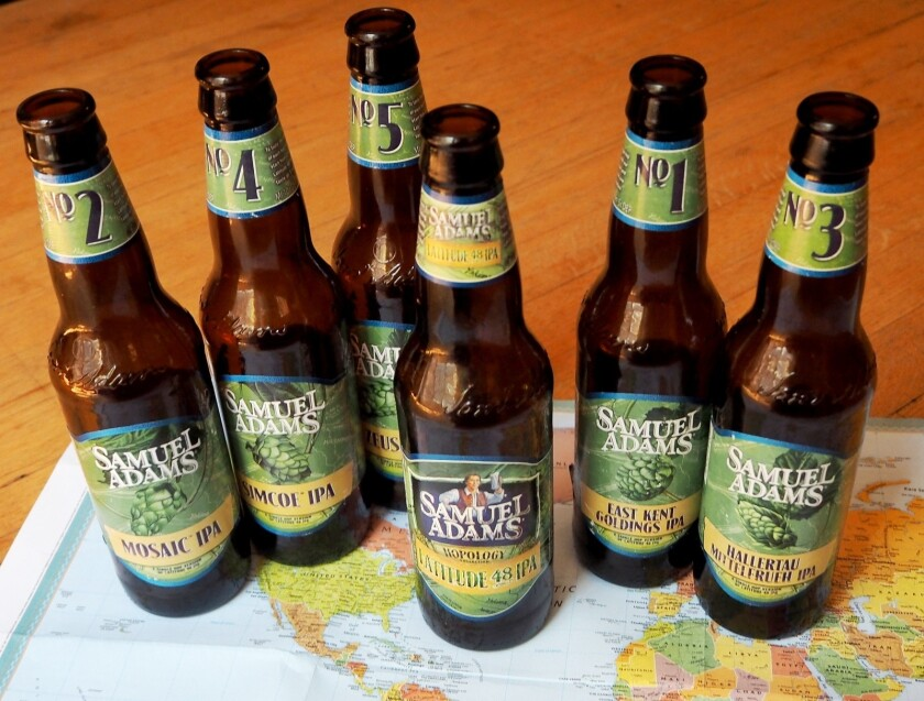 Get to know your hops with Samuel Adams' Latitude 48 -- beer