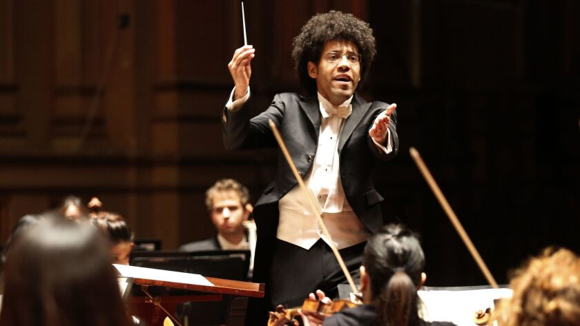 San Diego Symphony conductor Rafael Payare opens the season the weekend of Oct. 5 and 6.