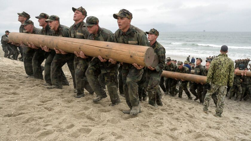1st woman drops out of Navy SEAL training pipeline - The San