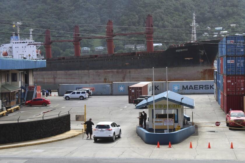 North Korea Cargo Ship Seized