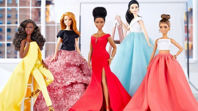 Christian Siriano creates Barbie replicas of his red carpet looks. (Mattel) ** OUTS - ELSENT, FPG, T