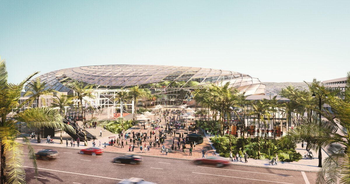 Clippers reveal renderings for proposed 18,500-seat Inglewood arena