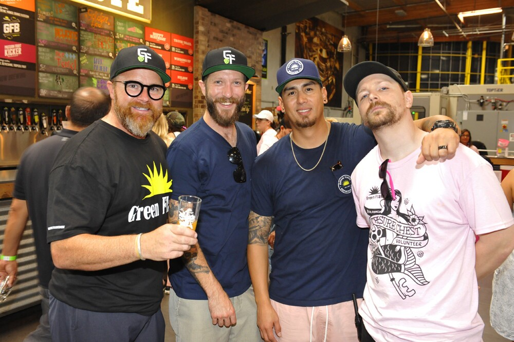 The 8th annual Green Flash Treasure Chest Beer + Food Fest raised funds for Susan G. Komen San Diego at Green Flash Brewing Co. in Mira Mesa on Sunday, Sept. 30, 2018.