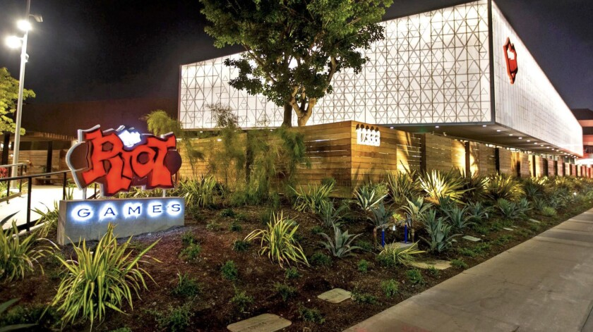 Riot Games' campus in West Los Angeles. (Colin Young-Wolff / Riot Games)