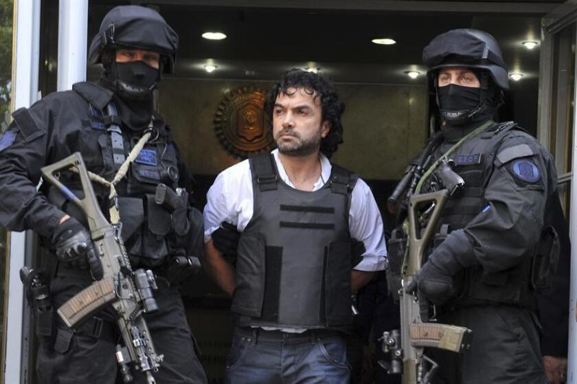 """Fotografía de archivo del narcotraficante colombiano Henry de Jesús López Londoño, alias """"Mi Sangre"""". EFE/Archivo"""