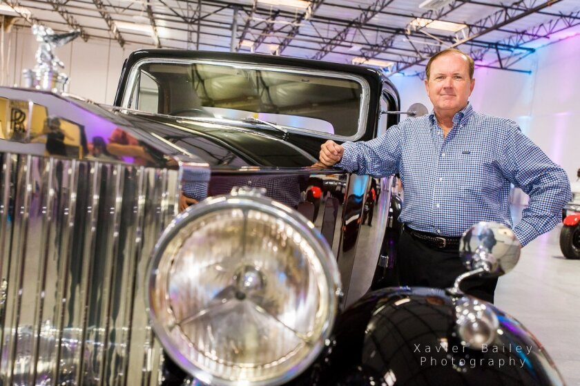 'In nine months, we went from zero to 85 cars,' said Charles Butler of his Rancho Santa Fe Motor Club and Storage.