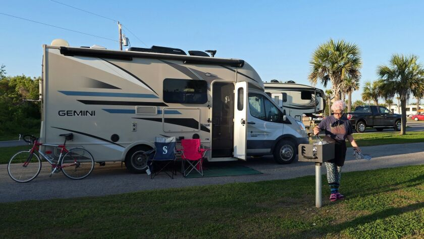 Grand Isle State Park in Louisiana offers nice sites for outdoor cooking.