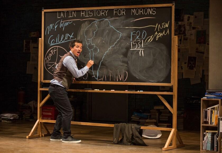 "John Leguizamo in ""Latin History for Morons."""