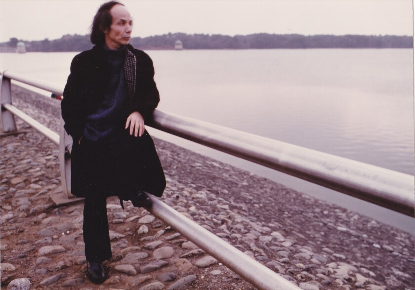 Japanese composer Toru Takemitsu.