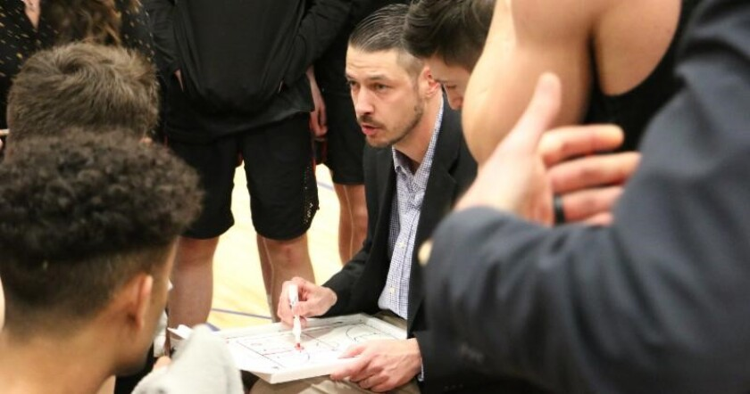 Point Loma Nazarene hired Whitworth University's Matt Logie to replace Ryan Looney as its men's basketball coach.
