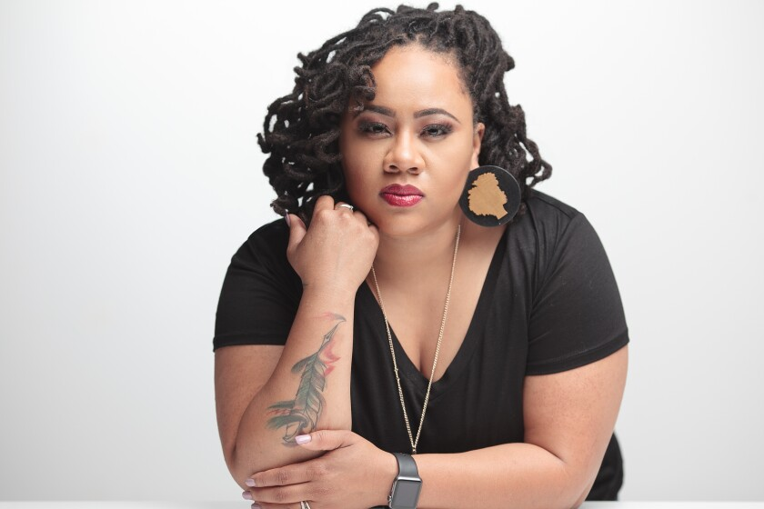 Christina Faith, a Philadelphia-based filmmaker who joined #Startwith8Hollywood.