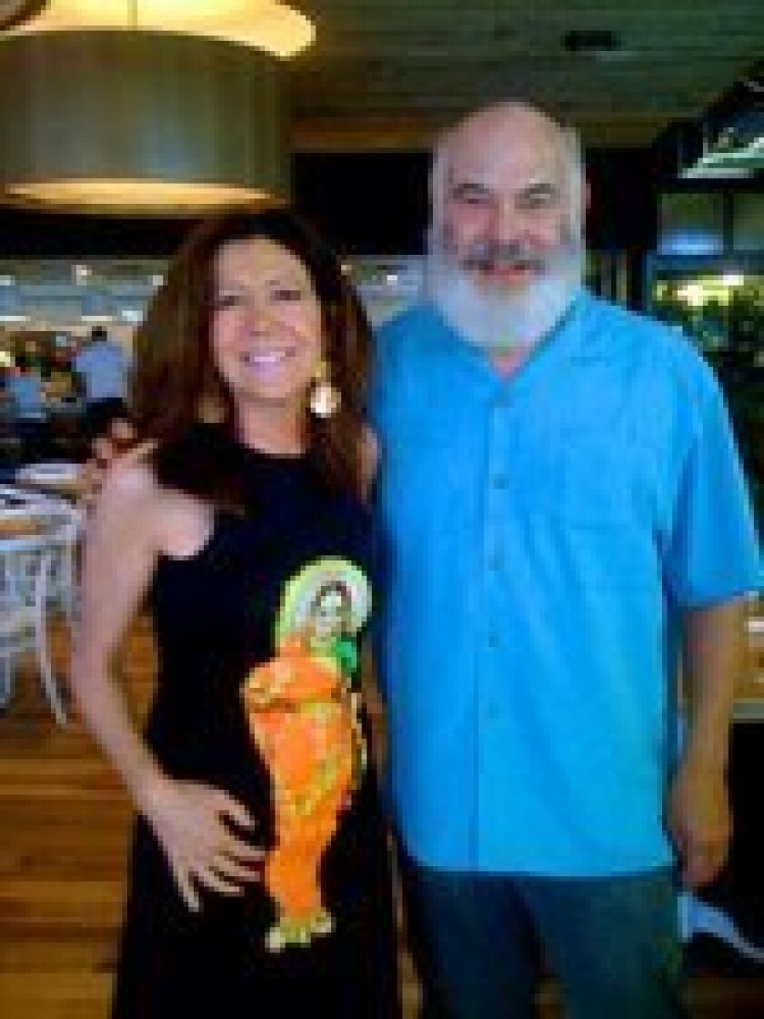 Catharine Kaufman and Dr. Andrew Weil