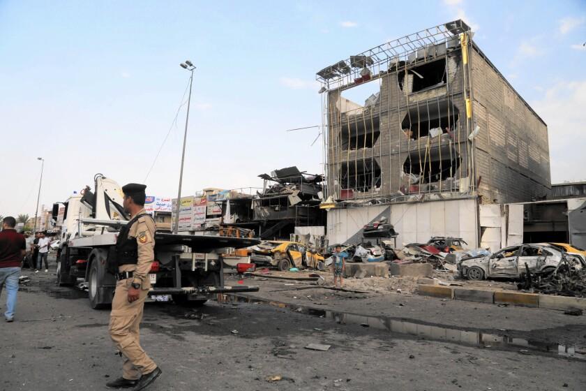 Car bombings in Baghdad