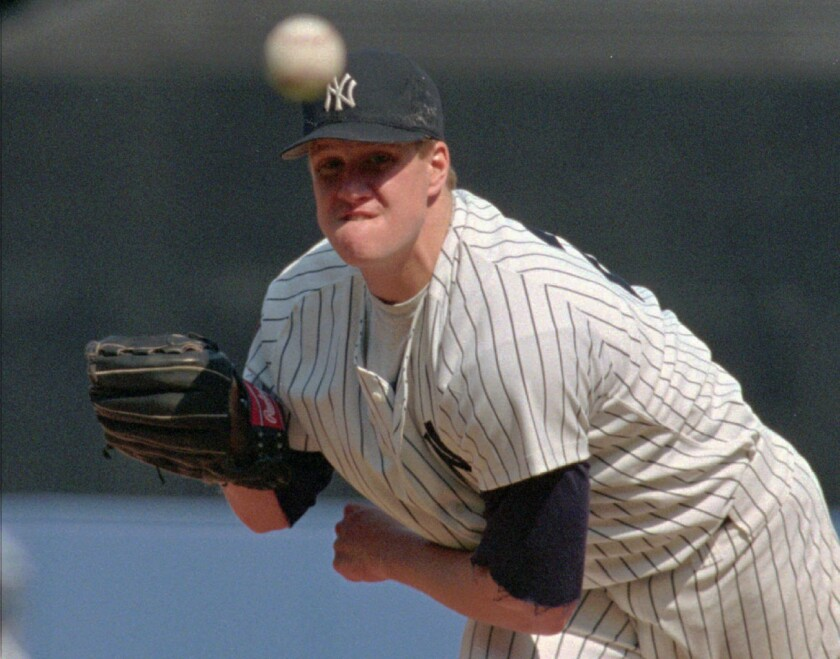 One of the highlights of pitcher Jim Abbott's baseball career was when he pitched a no-hitter for the Yankees in 1993 against the Cleveland Indians.