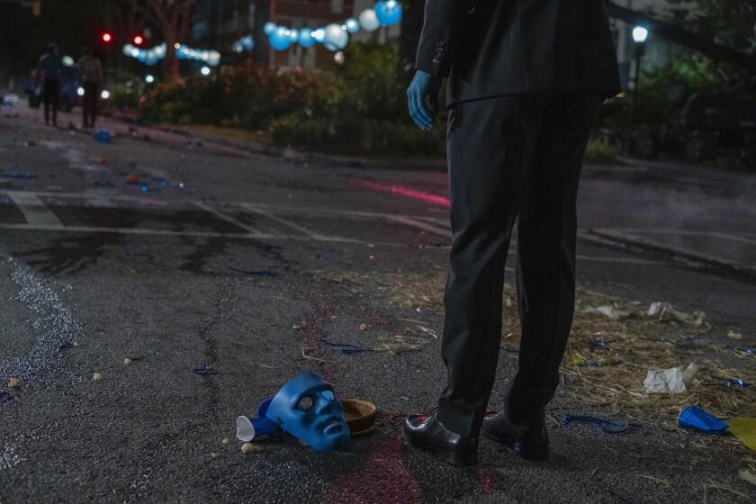 "Yahya Abdul-Mateen II in HBO's ""Watchmen"""
