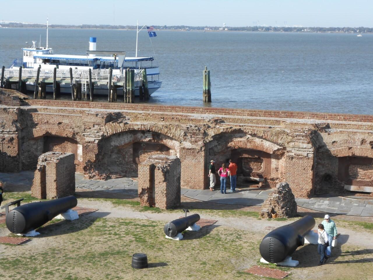 Fort Sumter in Charleston, S.C.