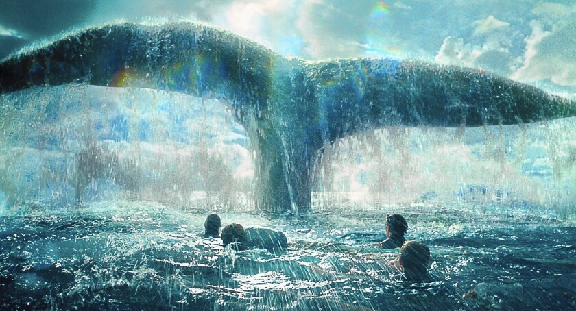 """A scene from the film """"In the Heart of the Sea."""""""